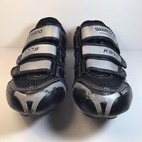 Shimano RD76 SH-R076L Road Bike Cycling Shoes sz 38 W/ Cleats
