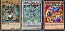 Custom Yugi Yusei Deck - Stardust Dragon - Dark Magician Girl - 44 Cards - NM