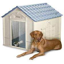 XXL Dog Kennel Large Dogs Crate Outdoor Pet Insulated House Big Shelter Cage NEW