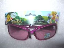 Disney Kids Tinkerbell Pink Shatter Resistant Glasses Sunglasses-New with Tags!