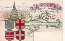 PIEMONTE - TORINO - ALESSANDRIA - CUNEO - NOVARA.........ill. FURLANETTO