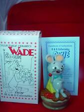 "WADE PIXIE MOUSE HANNA BARBERA 5"" TALL 1997 Ltd ed RARE mint boxed  gift ref 10"