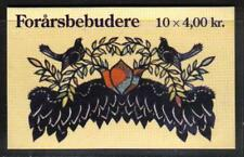Denmark 1999 Spring Birds complete booklet--Attractive Art Topical (1150) MNH