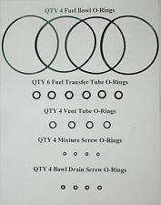 Honda V4 Carburetor O-ring set V4's V65, Magna & Sabre VF1100, V45 and More