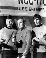 8x10 Print William Shatner Leonard Nimoy Star Trek 1965 #5501277