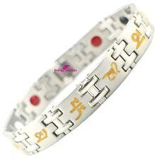 Magnetic Bracelet Germanium FIR Anion Power Health 4in1 Bio Energy Wristband