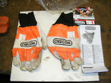 Oregon 91305L large chainsaw safety gloves