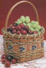"Burgundy Hill Basket Kit Berry Basket 4""X4""X4.5"" 752303128287"
