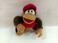 "Super Mario Diddy Kong Plush Toy Donkey Kong Banpresto 1995 SDK-6 Nintendo 6"""