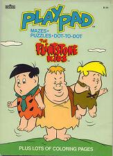Flintstone Kids coloring book RARE