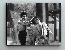 Rare Framed Bruce Lee fighting Jackie Chan Vintage Photo. Giclée Print