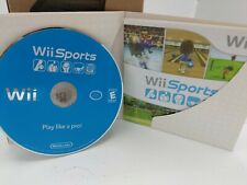 Nintendo Wii Sports 2006 Game Complete Disc With Sleeve and Manual