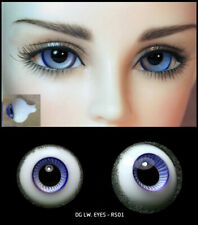 12mm two shade of violet high quality glass bjd doll eyes dollfie RS-01 ShipUS