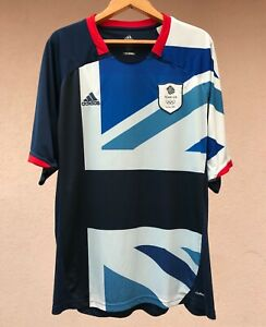 GREAT BRITAIN OLYMPIC TEAM 2012 HOME FOOTBALL SOCCER SHIRT JERSEY MAGLIA ADIDAS