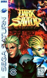 Dark Savior Sega Saturn Great Condition Fast Shipping