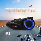 1KM Sony HD Motorcycle 6 Riders Intercom Helmet Headset Bluetooth Wifi DVR 1PCS