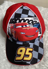 Kids Cars Red / Black Baseball Cap with Lightning McQueen