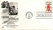 US FDC #1263 Cancer, ArtCraft (5763)