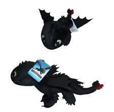 Dragons Drachenzähmen leicht gemacht 3 Ohnezahn 43 cm schwarz Stofftier Plüsch