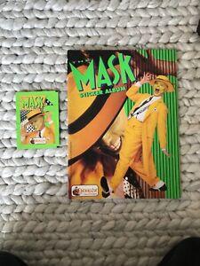 THE MASK - JIM CARREY  - MERLIN STICKER ALBUM - 1994 Partially Complete