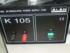 K305 ALAN Alimentatore da banco CB 12V 30A MIDLAND apparati ricetrasmittenti VHF