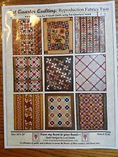 Lori Smith Fat Quarter Quilting: Reproduction Fabrics Two #1510