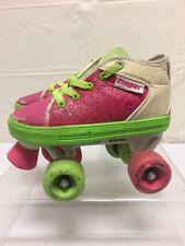 Zinger Roller Derby Girls Quad Skates Sz 2