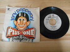 "7"" Pop Plus One - Tony Pepperoni REPRISE Weissmuster Promo"
