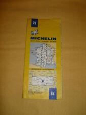 MICHELIN Carte Routière et Touristique N°79 Bordeaux - Montauban 1974