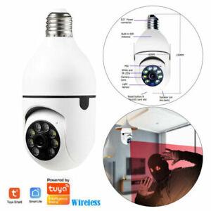 WiFi Camera Light Bulb 1080P HD IP Security Camera Wireless Motion Tracker