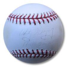 "Whitey Herzog Autographed MLB Baseball Cardinals ""HOF 2010"" Faded JSA EE19888"