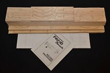 "1/8 Scale F4U-1 CORSAIR laser cut Short Kit, Plans & Instruction 61.5"" wing span"