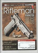 american rifleman remington double stacks ruger's m77 50 years & counting the gu