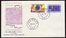Turchia 1901-02 FDC, 15 anni Consiglio d'Europa