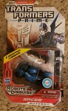 Transformers Prime Deluxe Class Arcee Sealed On Card
