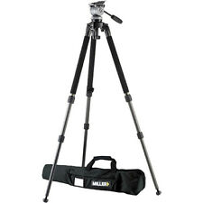 Miller DS-10 DV Fluid Head with Solo Aluminum Tripod System #1640