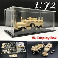 Box+ 1/72 US Army Cougar 6x6 Mrap Vehicle American Modern Military Plastic Model