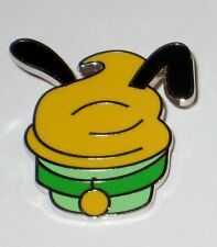 Character CUPCAKE Pluto Dog Mini Booster Cup Cake Disney Pin WDW AUTHENTIC