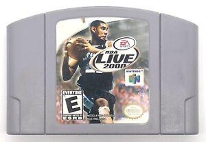 NBA Live 2000  (Nintendo 64, 1999) N64 Cartridge ONLY