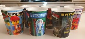 The Lego Movie McDonald's Cups x 6