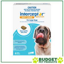 Interceptor Spectrum For Dogs 22-45kg Blue 6 chews