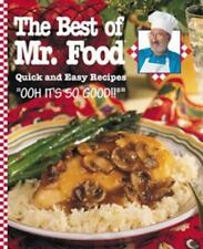 NEW - The Best of Mr. Food: Quick and Easy Recipes by Ginsburg, Art