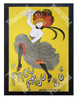 Historic french newspaper frou - frou Advertising Postcard