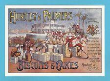 ADVERTISING  POSTCARD  -  ROBERT  OPIE  -  HUNTLEY  &  PALMERS   ( B )