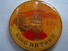 1980 King Arthur DONALD+MICKEY+FRED+SPIDERMAN++ Multi-Color Mardi Gras Doubloon