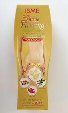 ISME Shape Firming Herbal Cream Anti-Cellulite Fat Slimming Hot Cream 120g./4oz.