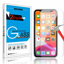 For iPhone 12 Pro Max 12 Mini Tempered Glass Screen Protector Protective Cover