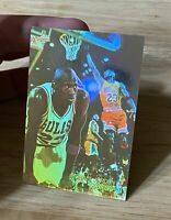 1991 Upper Deck Michael Jordan Scoring AW1 3D Basketball Card Holo Bulls
