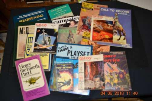 MILITARY HOBBIES BOOKS ART MAGAZINE