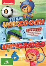 Team Umizoomi Umigames - Numbers, Shapes, Counting, Patterns DVD R4 New! *